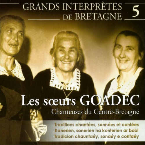 Grands interprètes de Bretagne - Volume 5 - Cd1