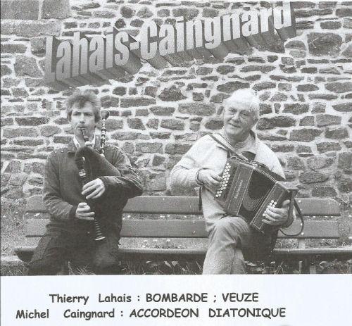 Thierry Lahais et Michel Caingnard