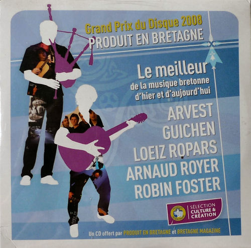 Grand Prix du disque - Produit en Bretagne 2008