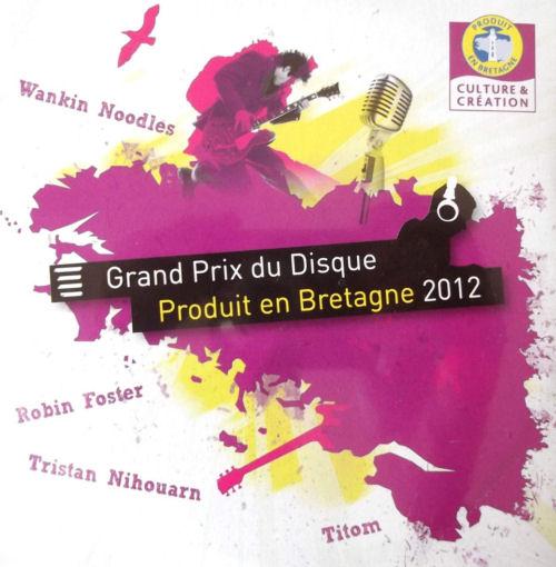Grand Prix du disque - Produit en Bretagne 2012