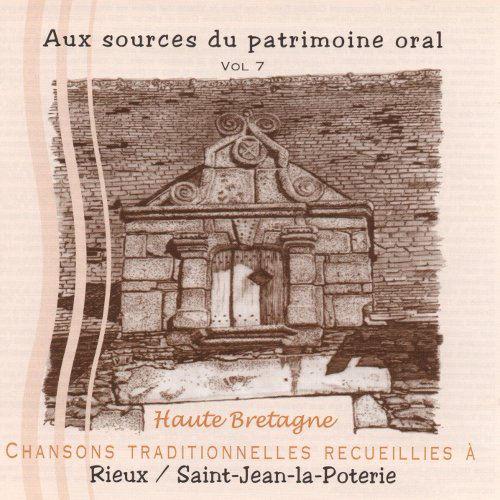 Chansons traditionnelles recueillies à Rieux, St-Jean-la-Poterie