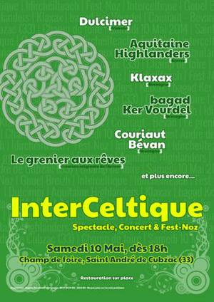Concert et fest noz saint andr de cubzac le 10 mai 2014 for Noz aquitaine