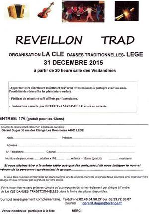 Repas et fest noz leg le 31 d cembre 2015 tamm kreiz - Idee repas reveillon 31 decembre ...