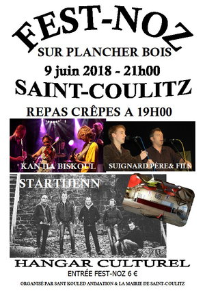 Fest Noz à Saint-Coulitz